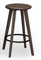 Mimosa Bamboo Counter Stools Black Walnut - YourBarStoolStore + Chairs, Tables and Outdoor  - 1
