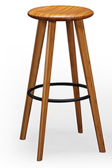 Mimosa Bamboo Bar Stools Caramelized