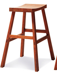 Holly Bamboo Counter Hight Stools Exotic - YourBarStoolStore + Chairs, Tables and Outdoor  - 1