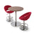 Soho Concept Crescent Piston Bar Stools