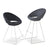 Soho Concept Crescent Wire Counter Stools