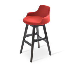 Soho Concept Dervish Wood Bar Stools