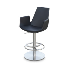 Soho Concept Eiffel Arm Piston Bar Stools