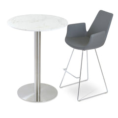 Soho Concept Eiffel Arm Wire Bar Stools