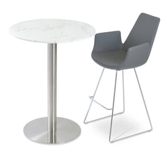 Soho Concept Eiffel Arm Wire Counter Stools