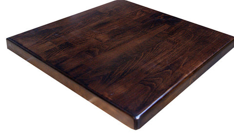 Commercial Tables T23CP  Beechwood Dark Walnut (pre-made)