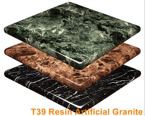 Commercial Tables T39 Resin High Gloss Artifical Granite