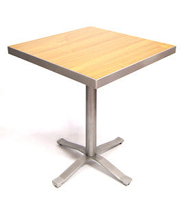Commercial Tables T73 High Pressure Laminate Top w/ alumium edge