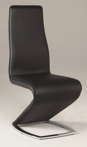 "Chintaly ""Z"" Style PU Side Chair"