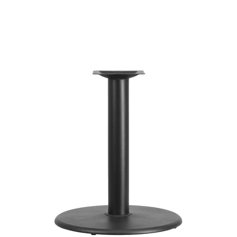 Round Restaurant Table Base with 4'' Dia. Table Height Column