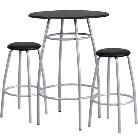 Bar Height Table and Stool Set