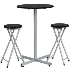 Bar Height Table and Stool Set - YourBarStoolStore + Chairs, Tables and Outdoor