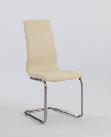 Chintaly Cantilever High Back PU Side Chair
