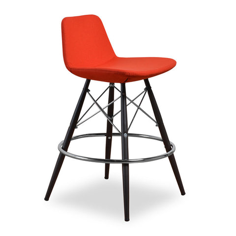 Aeon Christine-1 Counter-Orange Bar Stool AE2358-B16