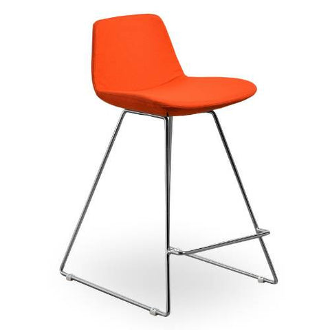 Aeon Alyssa-1 Counter-Orange Bar Stool AE2358-B16