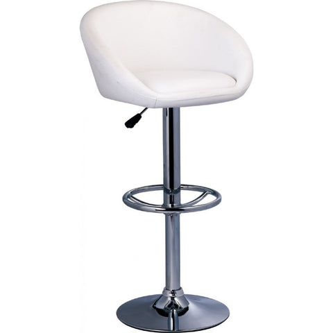 ModMade Tia Adjustable Bar Stool 2-Pack MM-BC-067-White