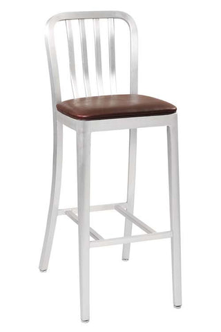 Aluminum Classic Bar Stool 871PS 24""