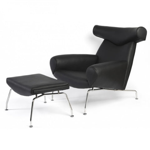 ModMade Bull Lounge Chair MM-Bull-Black