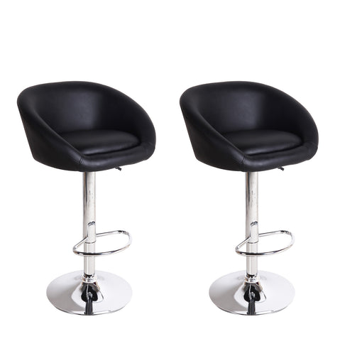 Black Bar Stools (Set of two)