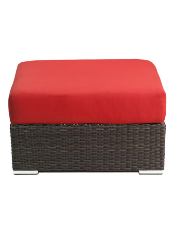 Florida Seating  Crystal Beach Ottoman With Cushion