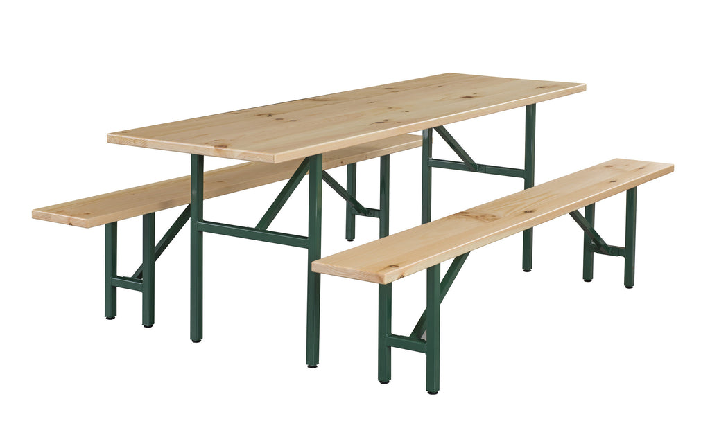 Custom-Made Beer Garden Table Set  On Sale Now! YourBarStoolStore