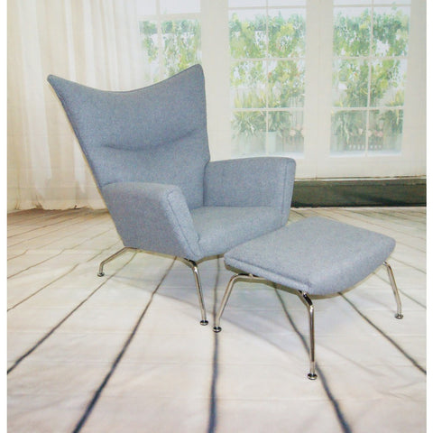 ModMade Classic Lounge Chair MM-8007-Grey
