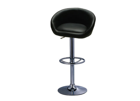 ModMade Tia Adjustable Bar Stool 2-Pack MM-BC-067-Black