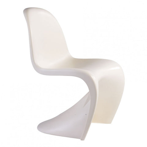 ModMade S Shape Chair MM-PC-011-White