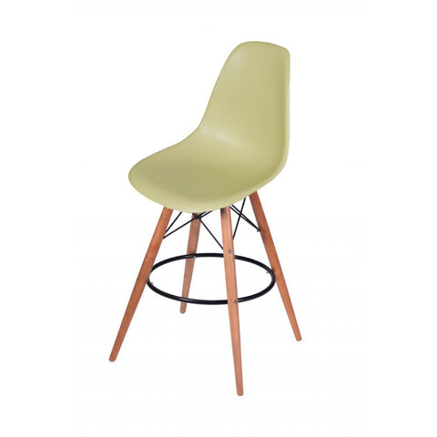 ModMade Paris Tower Barstool 2-Pack MM-PC-016WH-Green