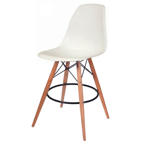 ModMade Paris Tower Barstool 2-Pack MM-PC-016WH-White