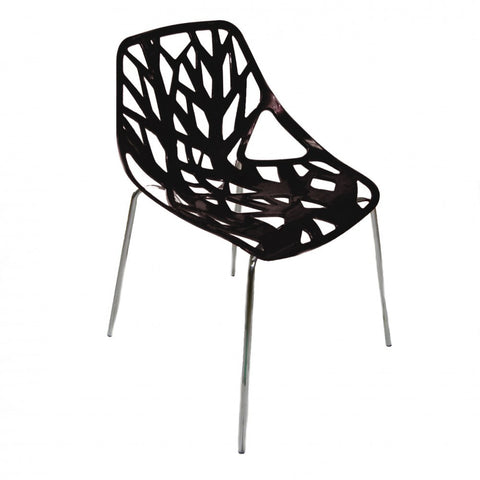ModMade Net Chair 2-Pack MM-PC-026-Black