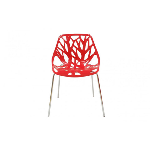 ModMade Net Chair 2-Pack MM-PC-026-Red