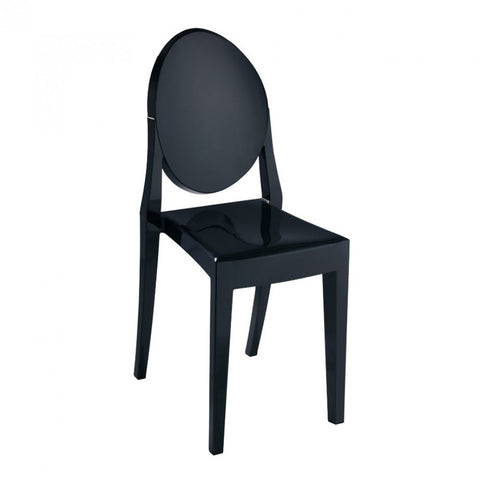 ModMade Louie Armless Chair MM-PC-089-Black