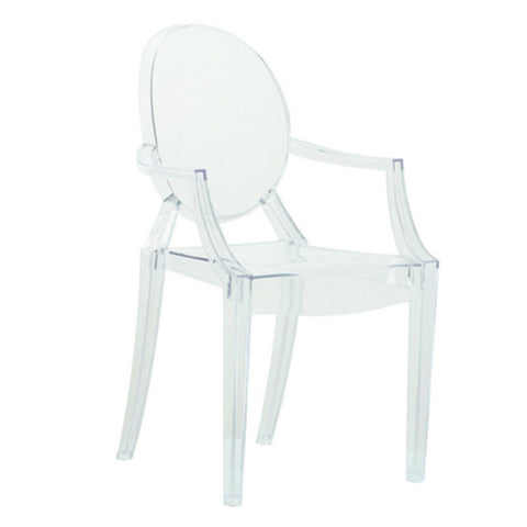 ModMade Louie Arm Chair MM-PC-099-Clear