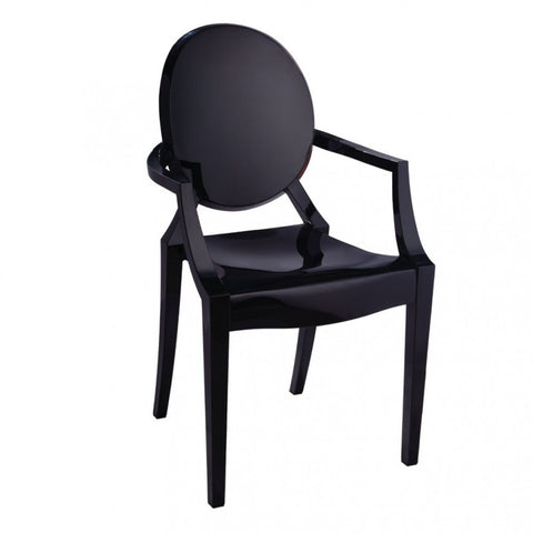 ModMade Louie Arm Chair MM-PC-099-Black
