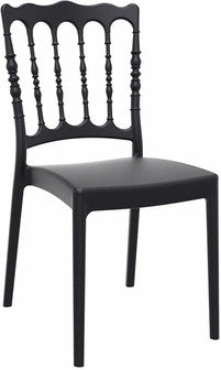Compamia Napoleon Dining Chair Black ISP044-BLA