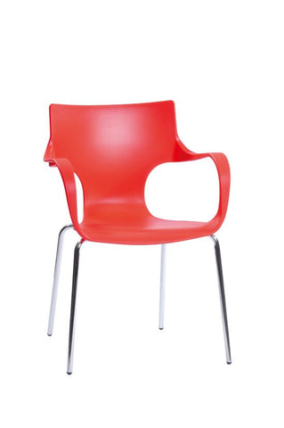 ModMade Phin Chair 2-Pack MM-PC-023-Red