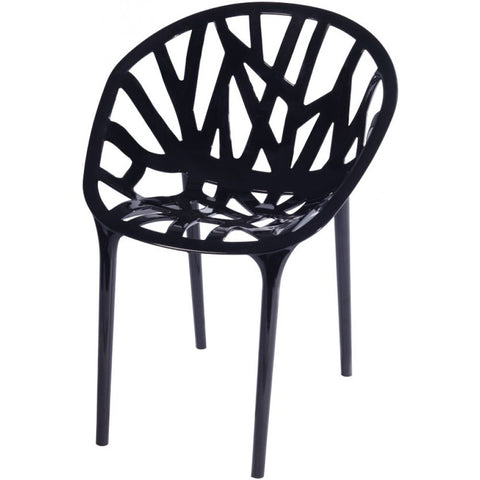 ModMade Branch Chair 2-Pack MM-PC-069-Black