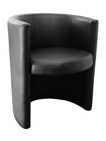 Florida Seating Soft (Night Club & Hotel) RING ARMCHAIR BLACK