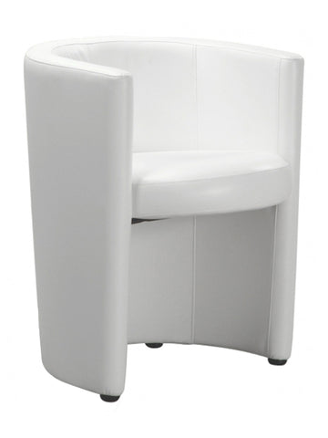 Florida Seating Soft (Night Club & Hotel) RING ARMCHAIR WHITE