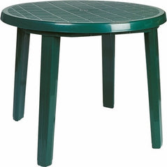 Compamia Ronda Resin Round Dining Table 35.5 inch Green ISP125-GRE - YourBarStoolStore + Chairs, Tables and Outdoor