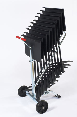 Music Stand Dolly - 10 Chair Capacity Transport Storage Accessories DYMS10