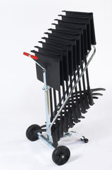 Music Stand Dolly - 10 Chair Capacity Transport Storage Accessories DYMS10 - YourBarStoolStore + Chairs, Tables and Outdoor