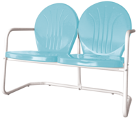 Retro Bellaire Loveseat - YourBarStoolStore + Chairs, Tables and Outdoor  - 1