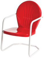 Bellaire Metal Lawn Chair - YourBarStoolStore + Chairs, Tables and Outdoor  - 1