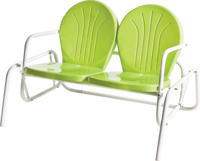 Retro Bellaire Double Glider - YourBarStoolStore + Chairs, Tables and Outdoor  - 1