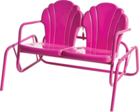 Retro Parklane Double Glider - YourBarStoolStore + Chairs, Tables and Outdoor  - 1