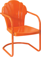 Retro Parklane Metal Chair - YourBarStoolStore + Chairs, Tables and Outdoor  - 1