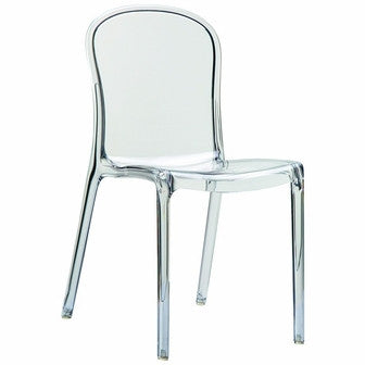 Compamia Victoria Polycarbonate Modern Dining Chair Transparent ISP033-TCL