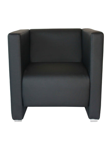 Florida Seating Soft (Night Club & Hotel) ZURICH ARMCHAIR BLACK